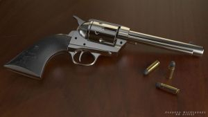 Colt Peacemaker - render by jacques87pulse