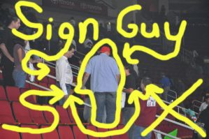 Sign Guy Sux2 by boomboom316