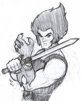 Lion-O from Thundercats by gndagnor