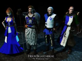 Game of Thrones: House Briarthorne by Hellwolve