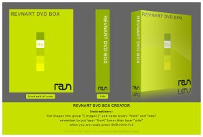 DVD box creator by revn89