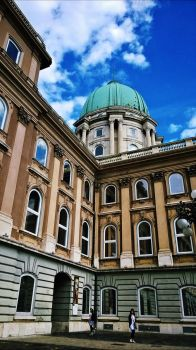 buda castle by nymphen