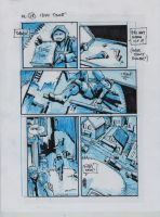 IDW TMNT One Page Eighteen by Kevineastman