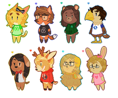 Animal Crossing Friends! by PONYPUKE