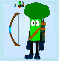 Benton the Broccoli by NazFro24-2