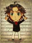 L. Beethoven Colored by ShiroiYoukai