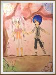 Cherry Blossoms with Nara and Niel by celca-ksan