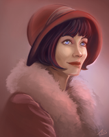 Phryne Fisher by aliceazzo