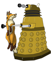Dalek Love by Saffhire-Phoenix