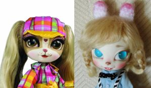 custom pinkie cooper doll before and after by hellohappycrafts
