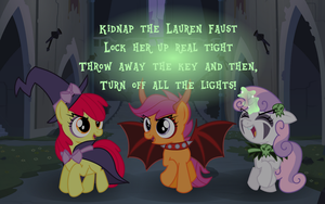The Cutie Mark Kidnappers by Itoruna-The-Platypus