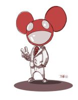 Deadmau5 Commish by D-Gee