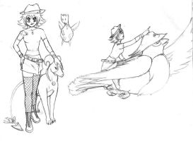 Trainer sketches by Cassaa