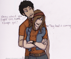Chris x Clarisse by Deesney