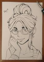 Inktober Day 15: Cocoa by ll-Coffee-ll