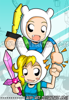 Adventure Time - Bookmark Front by amy-art