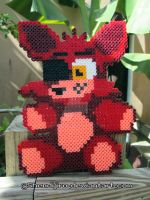 Foxy from FNAF | Bead Sprite | DIY Video by Shendijiro