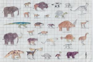 Ice Age bestiary part1 by TomChaney