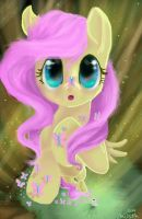 Flutters by TheCraftyWhiteFox