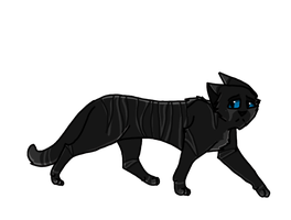 Darkstripe by Aika-cat