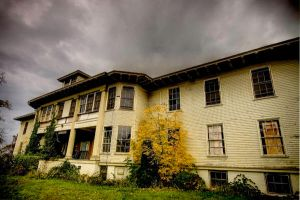 fairview state hospital HDR 2 by elementalunacy