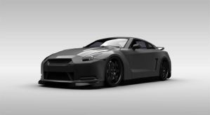Nissan GTR Spec V by gbpackers