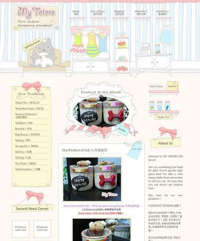 My Totoro Online Gift Shop by dunnodt