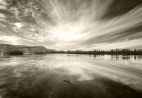 An artificial lake by ludamare