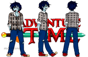 legends of AaA- design sheet (ficha) Marshall lee by mochiingames