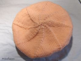 Ugly Itchy Awful Peach Beret by mizufusion