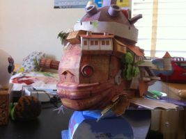 Howl's Moving Castle Craft by Magedark9