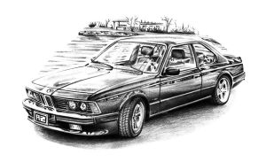 BMW E24 by Arek-OGF