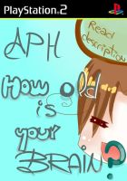 :APH:how old is ur brain:cover by AniDarkSugaR