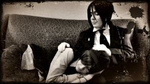His Butler - A Pillow by zombie-tea-party