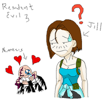 Jill and Nemesis  XD by Marco2099