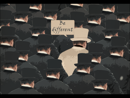 Be different by physiks