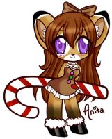 Gingerbread Anita by shiin