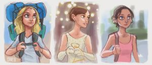 Best Actress - 2015 Sketches by DaveJorel