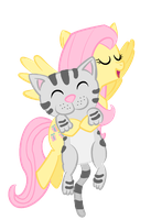 Fluttershy Soft Kitty Vector by aniamalman