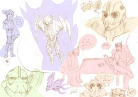 TFP - Doodlings by pika