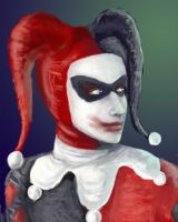 Harley Quinn Speed Painting by AutumnEmbers