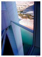 Looking out from the Burj.. by Jupit3r