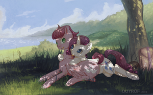 Contest Entry - 038 ouyrof by KydoseXRarity