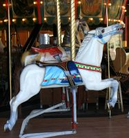 Gage Park Carousel 1 by Falln-Stock