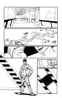 First Time: Pg 1 - Inks by PrinceBrian