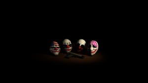 The Masks by Illeidr