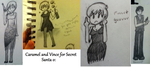 Doodle Compilation of Awesome '20s Characters by Phoenix976