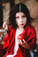 Red apple by Leona-Snow