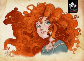 BRAVE Merida by FranciscoETCHART