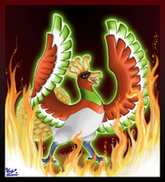 Pokedex Projekt Ho-Oh by LuckyLucario